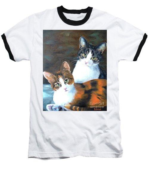 Two Friends Baseball T-Shirt