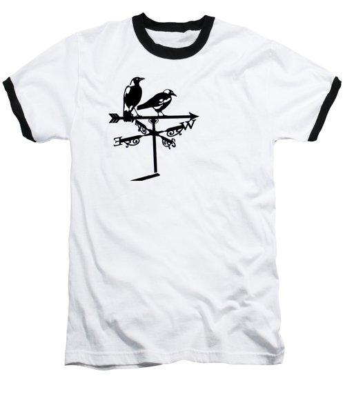 Two Magpies Baseball T-Shirt