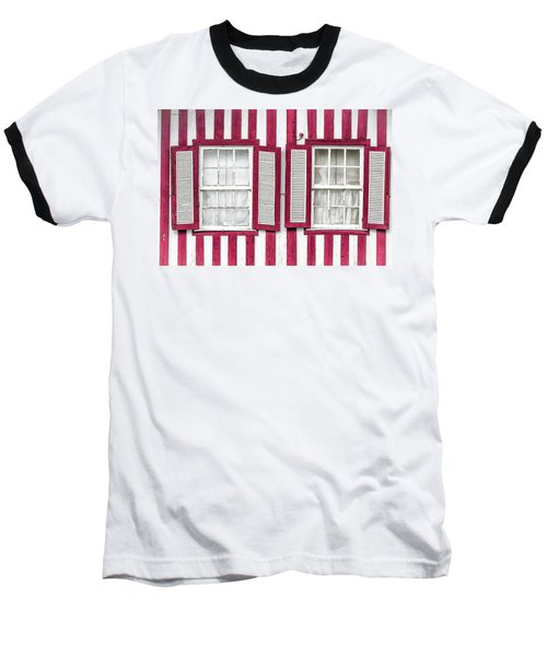 Two Old Windows Baseball T-Shirt