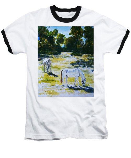 Sunlit Baseball T-Shirt by Hartmut Jager