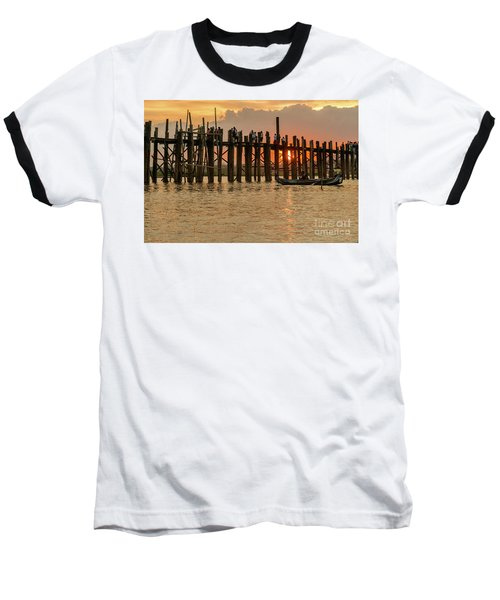 U-bein Bridge Baseball T-Shirt