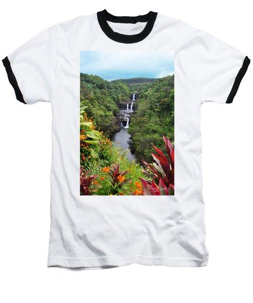 Umauma Falls Hawaii Baseball T-Shirt