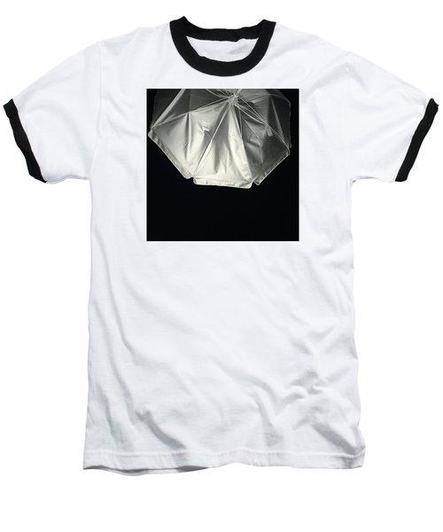Umbrella Baseball T-Shirt by Karen Nicholson