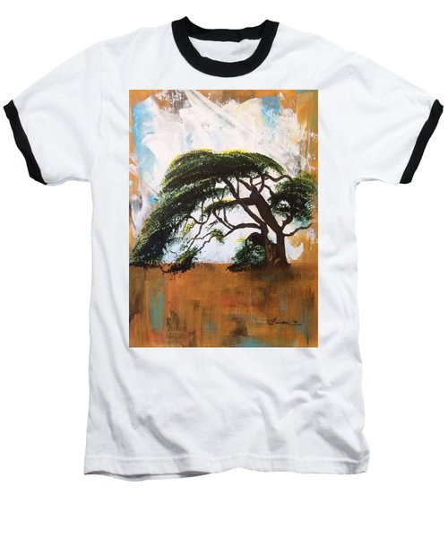 Baseball T-Shirt featuring the painting Unbreakable by Patti Ferron