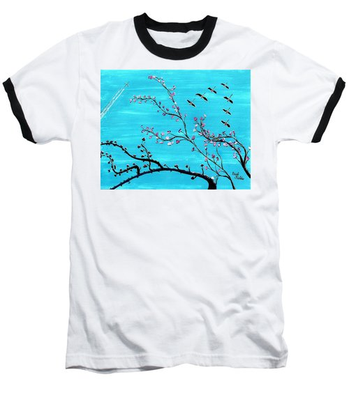 Under A Tree Baseball T-Shirt