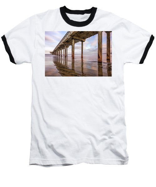 Under Scripps Baseball T-Shirt by Joseph S Giacalone