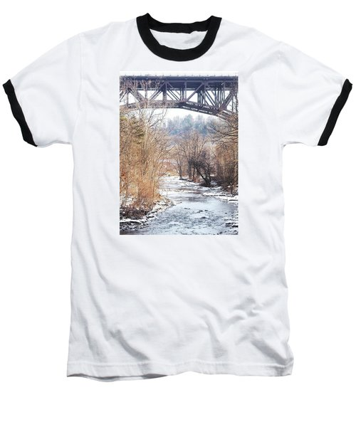 Under The Arch Baseball T-Shirt by Ellen Levinson