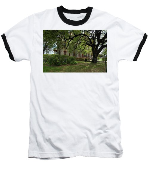 Under The Tree F5622a Baseball T-Shirt by Ricardo J Ruiz de Porras