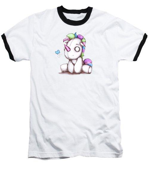Unicorn Plushie Baseball T-Shirt