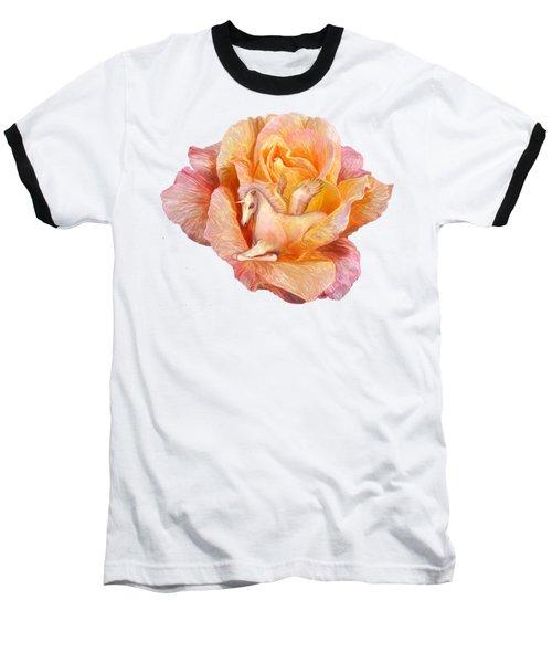 Unicorn Rose Baseball T-Shirt