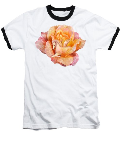 Unicorn Rose Baseball T-Shirt
