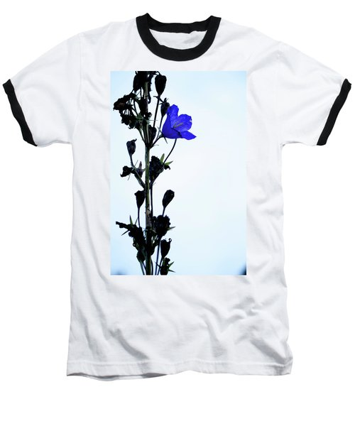 Unique Flower Baseball T-Shirt