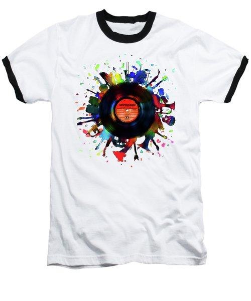 Unplugged Baseball T-Shirt