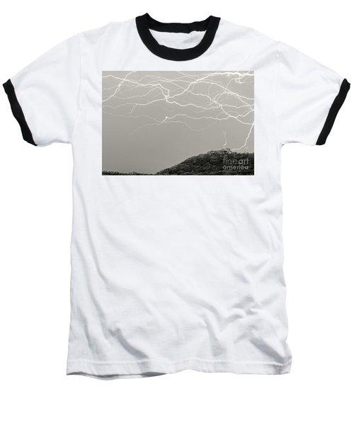 Unreal Lightning Baseball T-Shirt