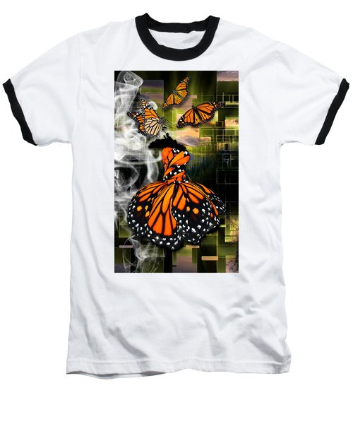 Baseball T-Shirt featuring the mixed media Unrestricted by Marvin Blaine