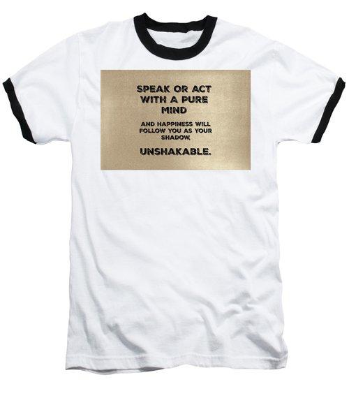 Unshakable Baseball T-Shirt