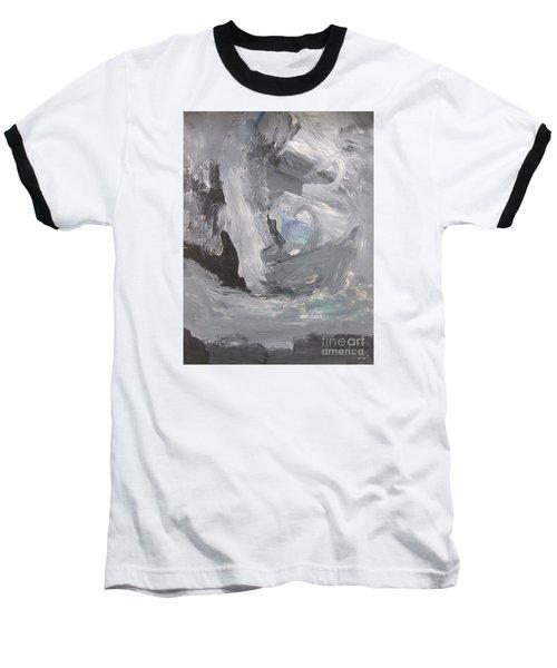 Untitled 124 Original Painting Baseball T-Shirt