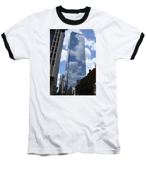 Skyway Baseball T-Shirt by Veronica Rickard