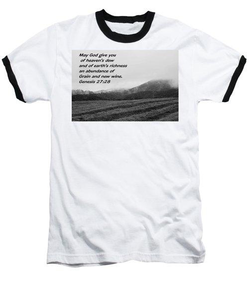 Uplifting Fog Baseball T-Shirt