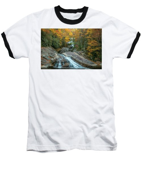 Upper Creek Autumn Paradise Baseball T-Shirt