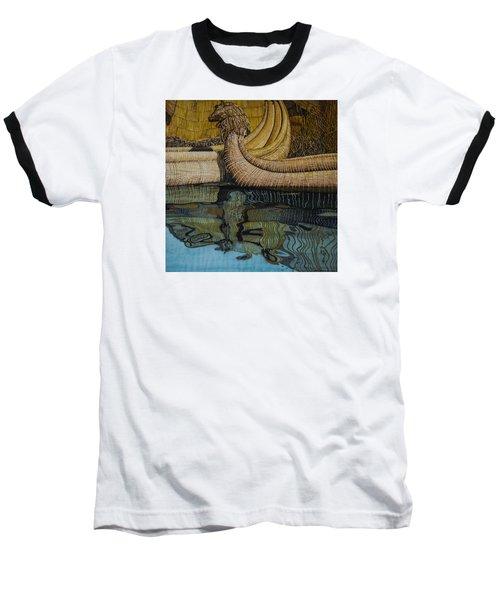 Uros Straw Boats And Island Baseball T-Shirt