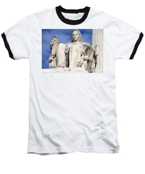 Us Supreme Court 7 Baseball T-Shirt