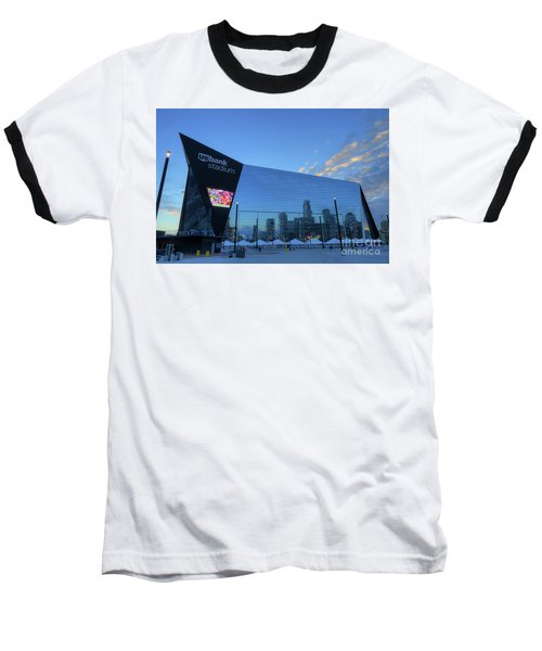 Usbank Stadium Morning Baseball T-Shirt