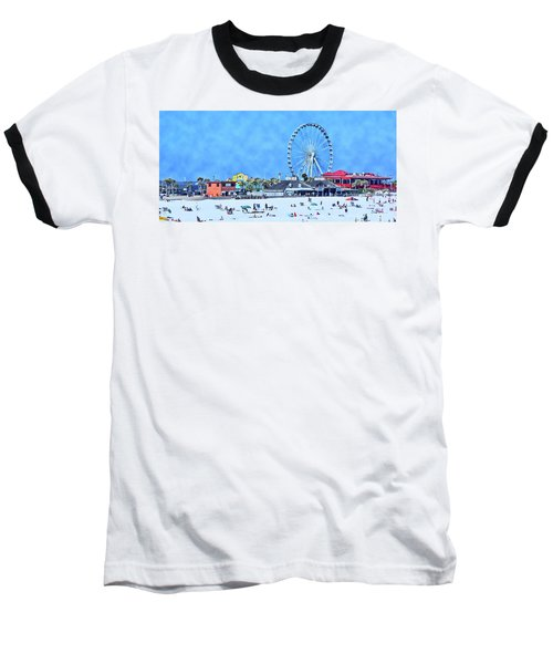 Baseball T-Shirt featuring the photograph Vacation by Kathy Bassett