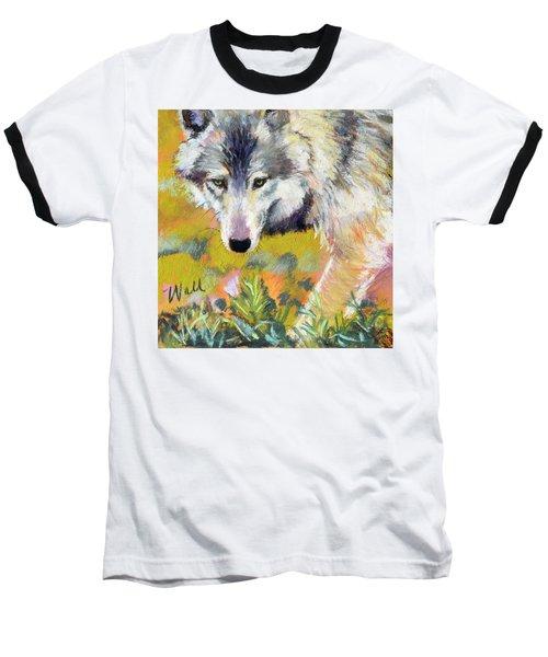 Vagabond Baseball T-Shirt by Pattie Wall
