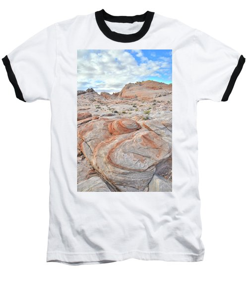 Valley Of Fire Beehives Baseball T-Shirt by Ray Mathis