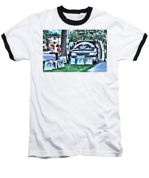 Van Art Baseball T-Shirt