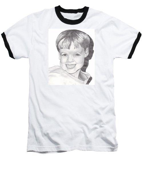 Van Winkle Boy Baseball T-Shirt by Jean Haynes