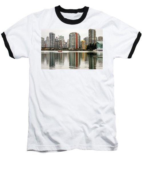 Vancouver Bc Sky Line Baseball T-Shirt