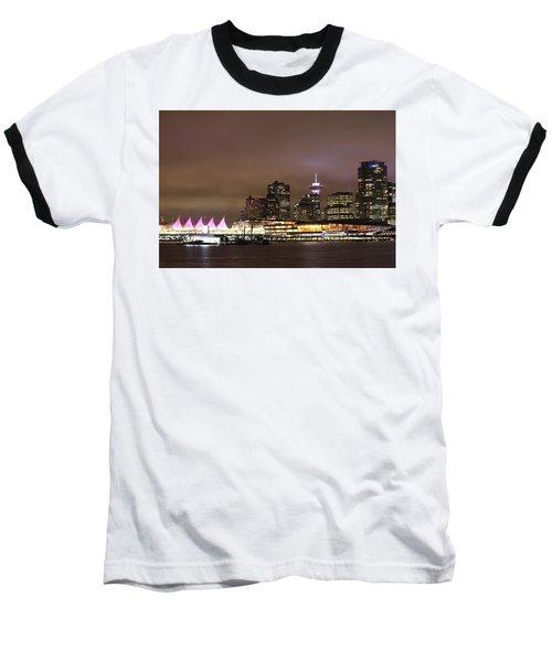 Vancouver Canada Place Baseball T-Shirt