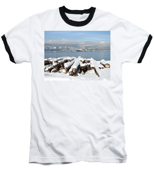Vancouver Winter Baseball T-Shirt by Brian Chase