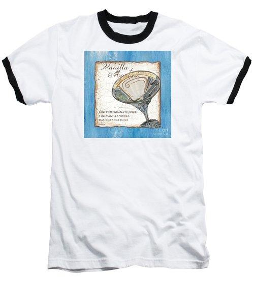 Vanilla Martini Baseball T-Shirt