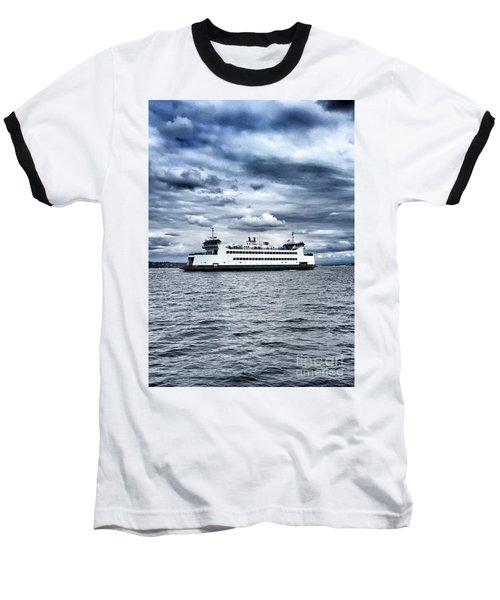 Vashon Island Ferry Baseball T-Shirt