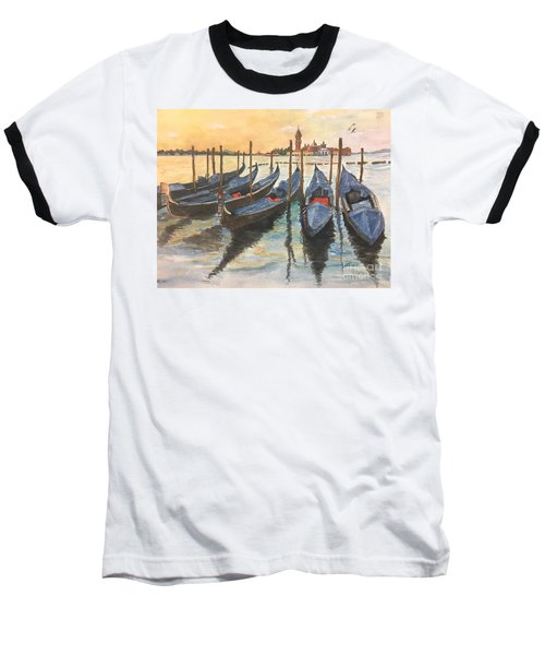 Venice Baseball T-Shirt by Lucia Grilletto