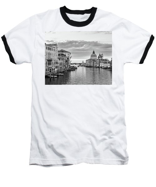 Venice Morning Baseball T-Shirt by Richard Goodrich