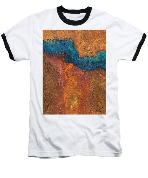 Verge Baseball T-Shirt by The Art Of JudiLynn