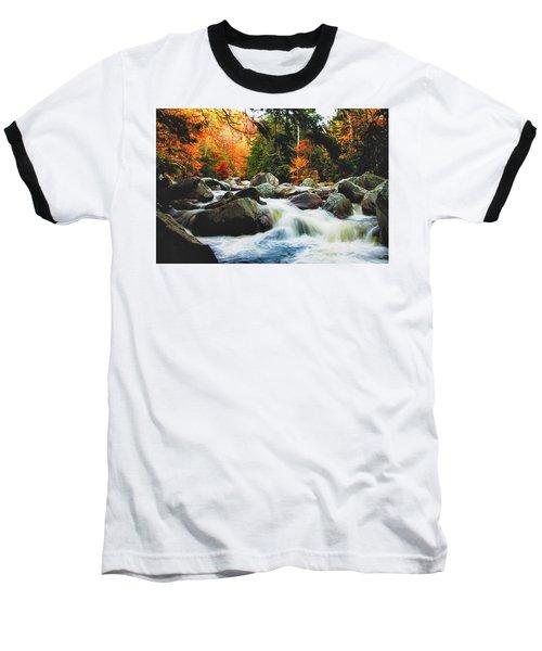 Vermonts Fall Color Rapids Baseball T-Shirt