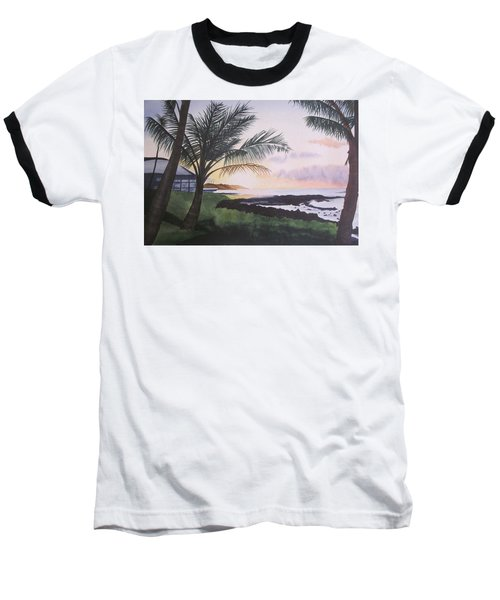 Baseball T-Shirt featuring the painting Version 2 by Teresa Beyer
