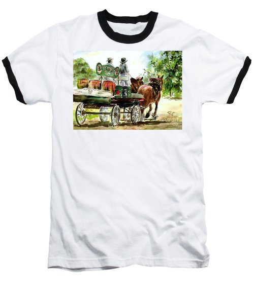Victoria Bitter, Working Clydesdales. Baseball T-Shirt