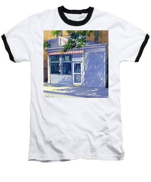 Vic's Barbershop Baseball T-Shirt