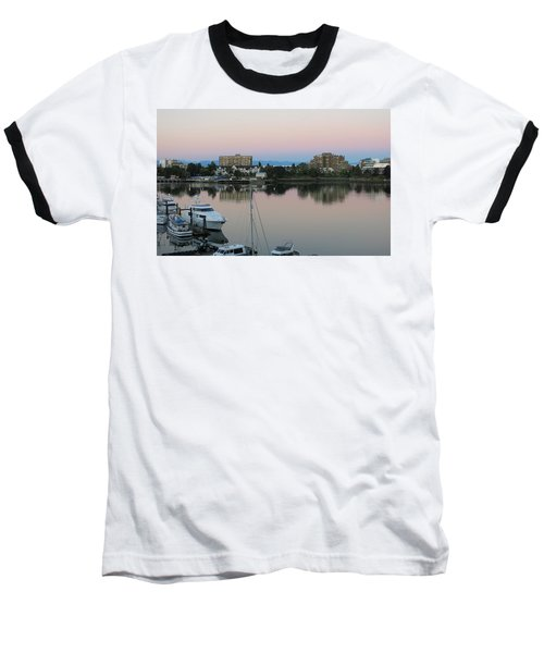 Victoria Harbor Dawn Baseball T-Shirt