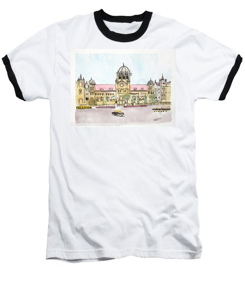 Victoria Terminus Baseball T-Shirt