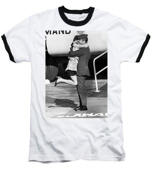 Vietnam Pow Returns Baseball T-Shirt