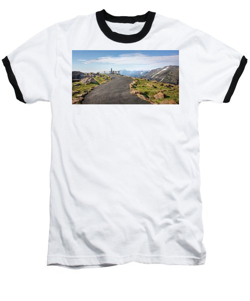 Baseball T-Shirt featuring the photograph View At The Top by James Woody