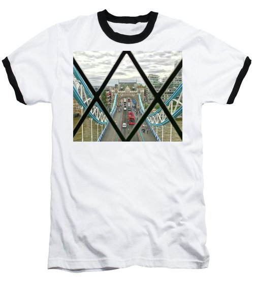 View From A Bridge Baseball T-Shirt