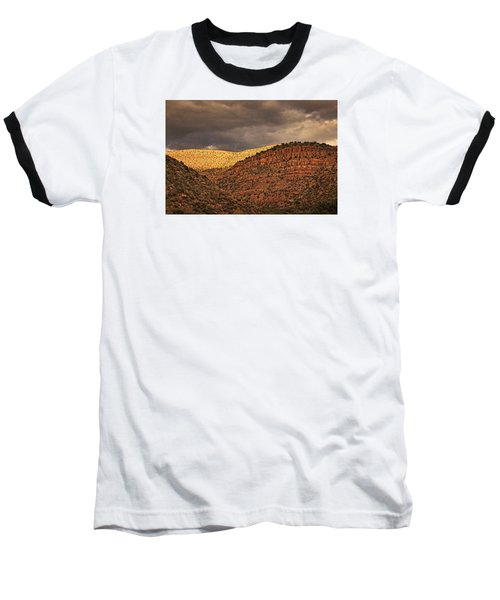 View From A Train Txt Baseball T-Shirt